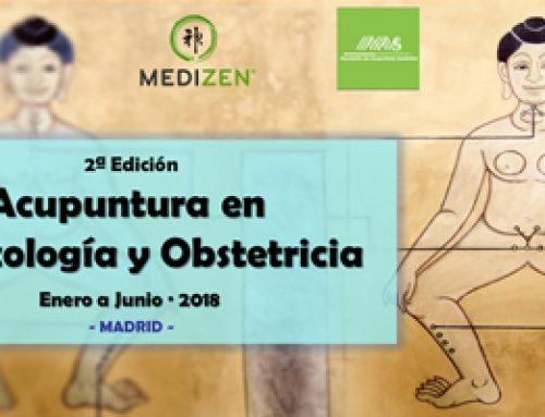 Curso de Acupuntura en Ginecología y Obstetricia. Enero / Junio 2018