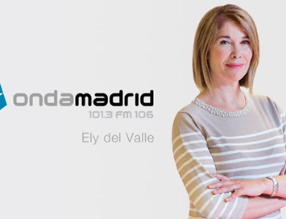 Hoy en Madrid, con Ely del Valle
