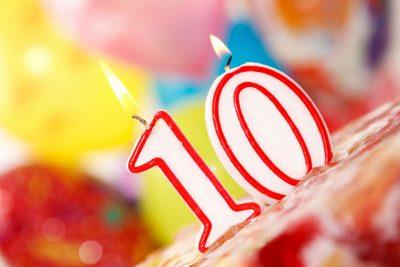 10 años a tu lado. ¡Estamos de aniversario!
