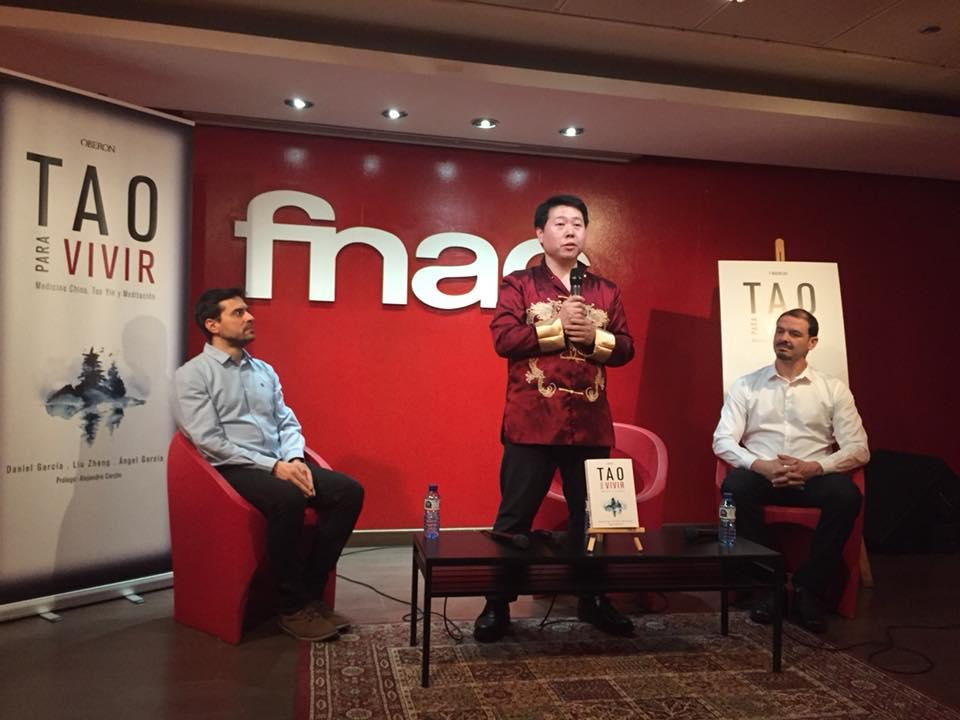 Presentación del nuevo libro del Prof. Liu Zheng: Tao para vivir. 30 de enero en Forum Fnac (Madrid)