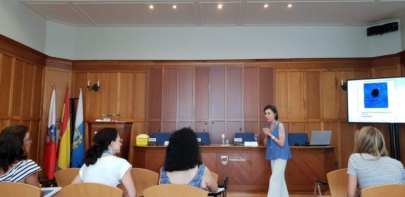 """Clausura del curso """"Aplicación clínica práctica de la acupuntura auricular"""" en los Cursos de verano de la Universidad Internacional Menéndez Pelayo UIMP"""