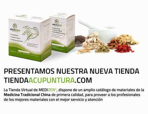 Nueva Tienda Online de Acupuntura. Con la garantía de calidad de MEDIZEN®