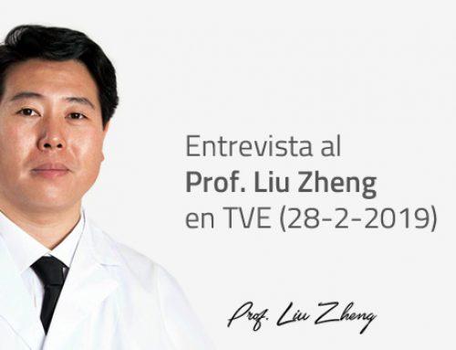 Entrevista al Prof. Liu Zheng en TVE. 28 de febrero de 2019