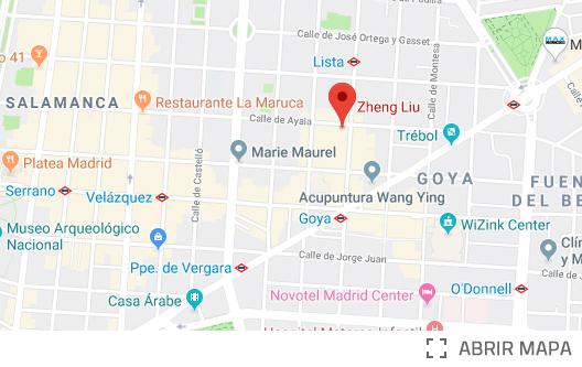 Clínica Acupuntura MEDIZEN Goya Ayala