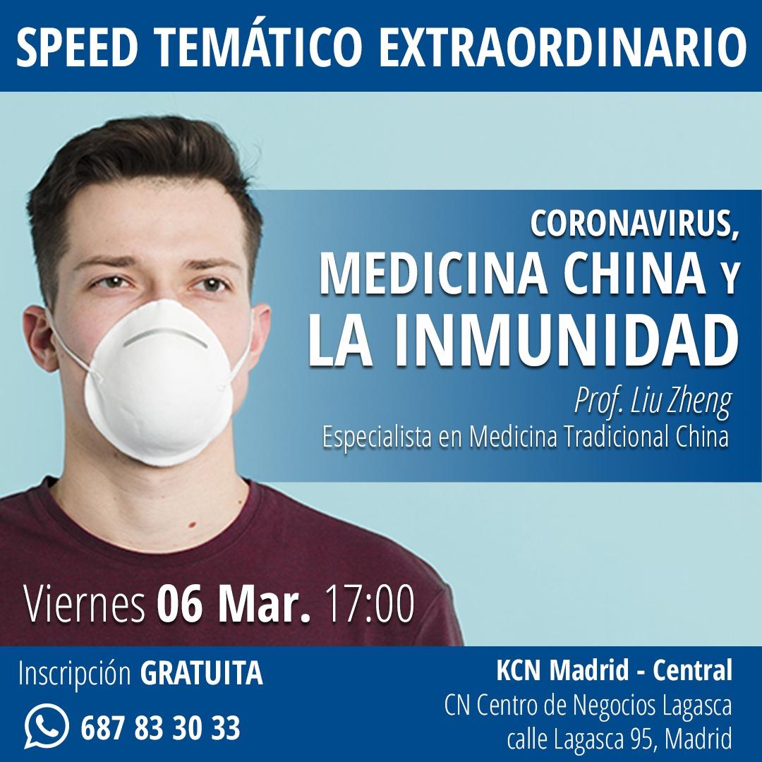 Coronavirus, Medicina China y la Inmunidad