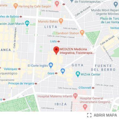 MEDIZEN Ayala Goya Mapa