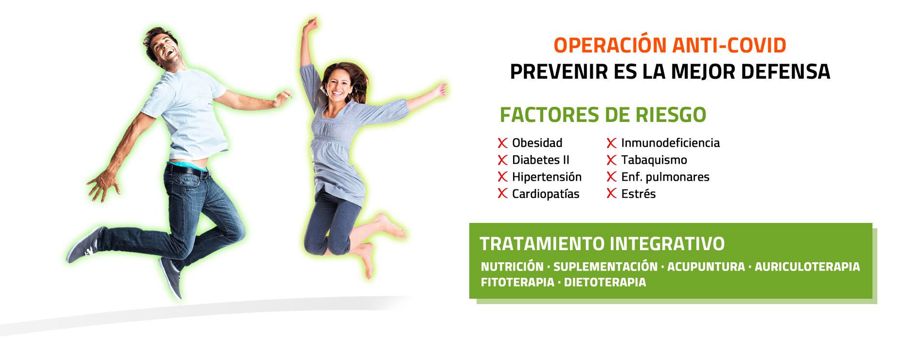 Operación Anti-Covid.Prevenir es la mejor defensa (Alergia y Coronavirus)
