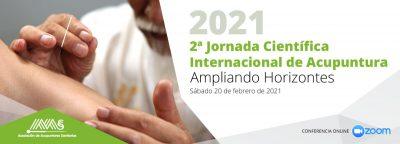2ª Jornada Científica Internacional de Acupuntura: Ampliando Horizontes. (Sábado, 20 de febrero 2021)